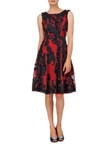 Callula fit and flare dress