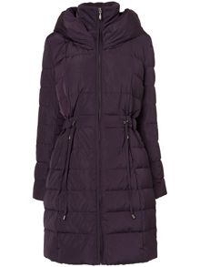 Hattie hooded puffer jacket