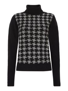 Diamon Polo Neck Jumper