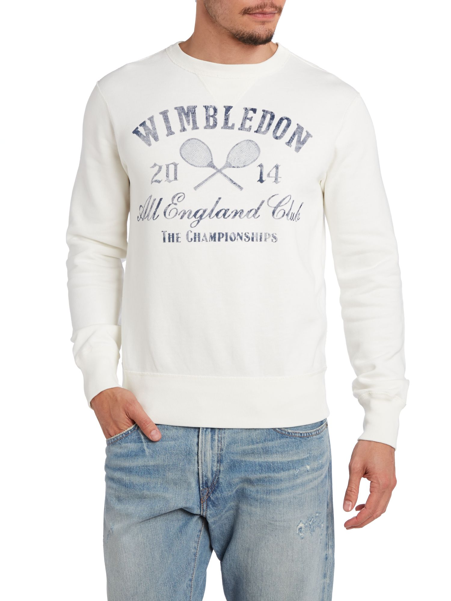 Ralph Lauren Wimbledon Fleece Sweat