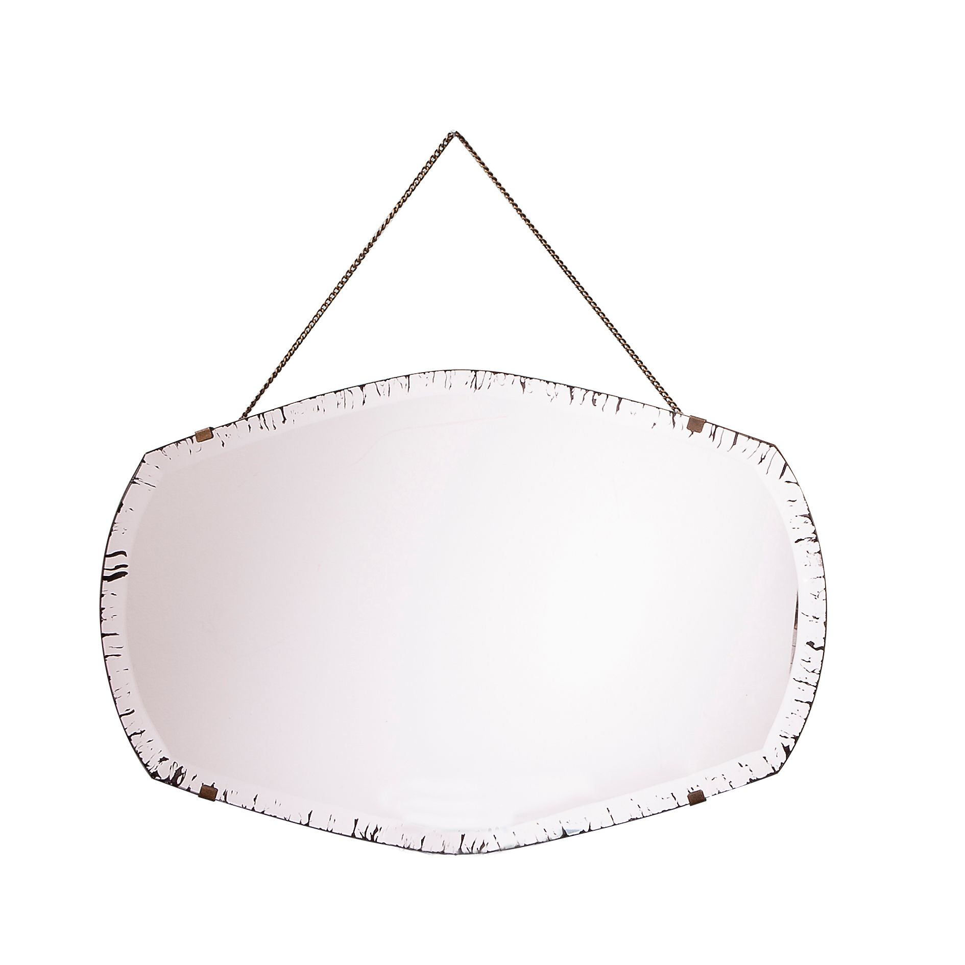 Hepworth antique mirror 53 x 35cm