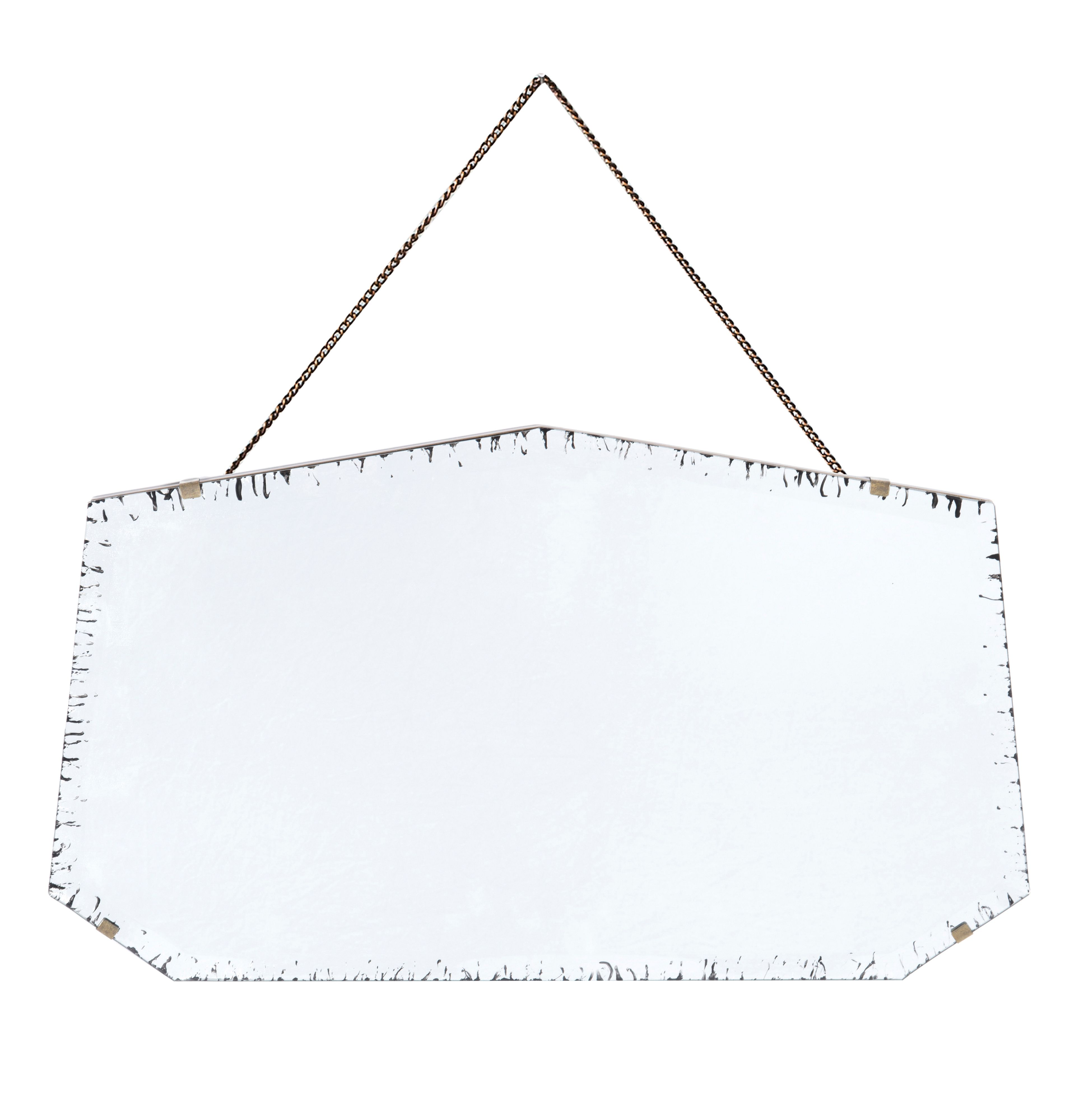 Goldsmith antique mirror 60 x 35cm