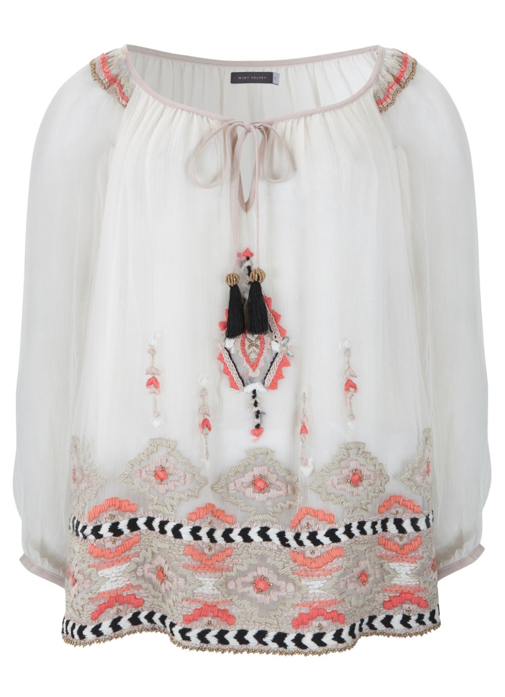 Keira Embroidered Tunic