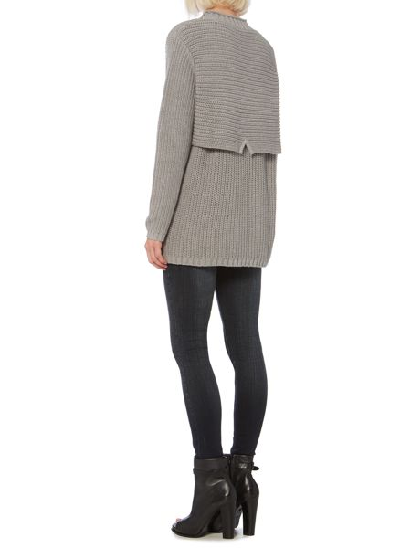 Label Lab Double layer chunky jumper