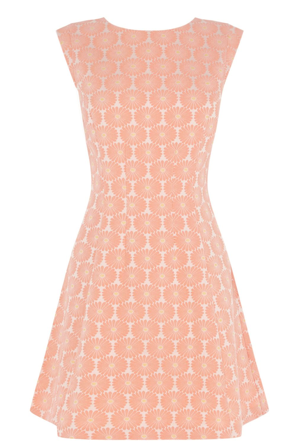 Daisy jacquard dress