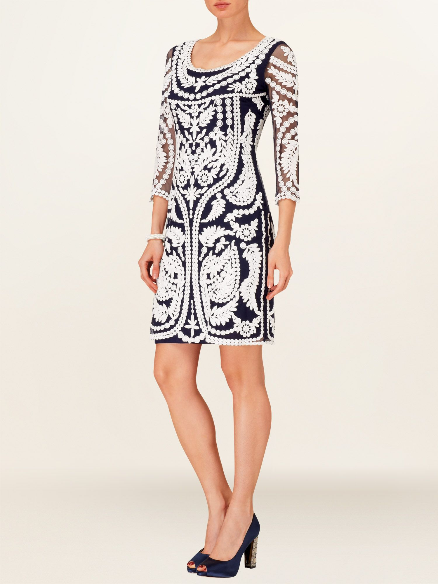 Willamina embroidered dress