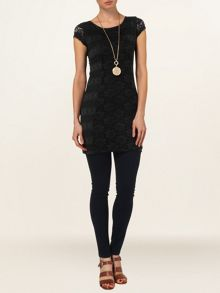 Jane lace tunic