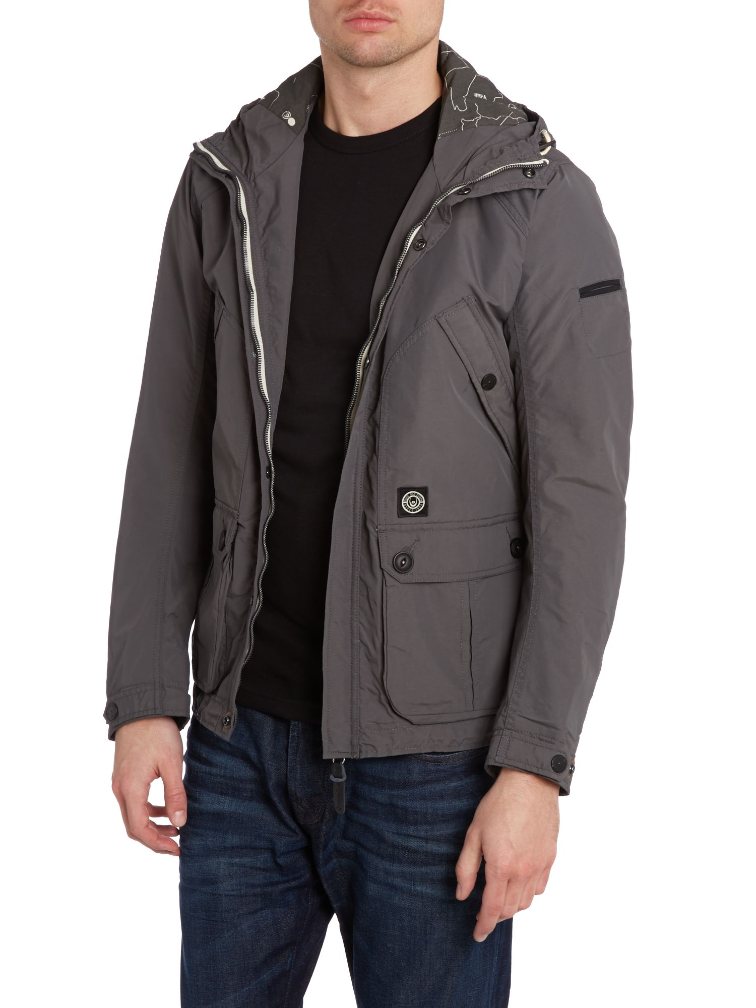 Owen-v3 hooded shower proof jacket