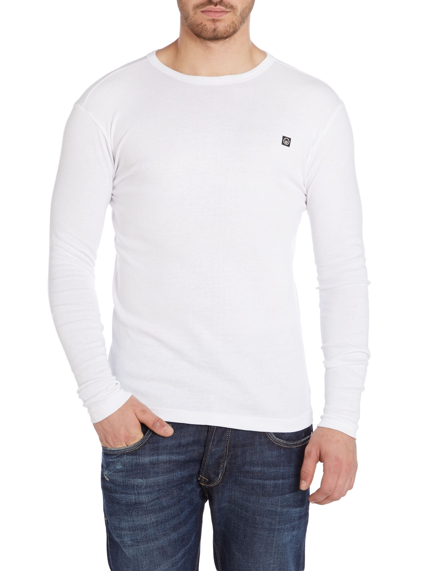 Nash long sleeve crew neck t-shirt