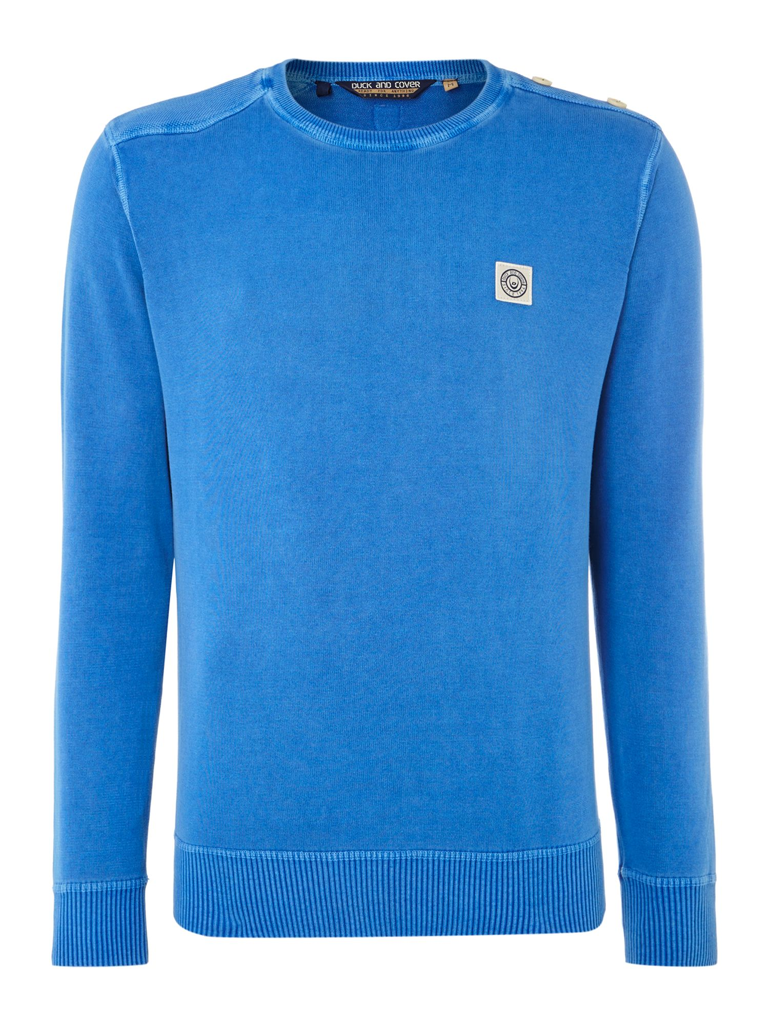 Thorne cotton crew neck jumper