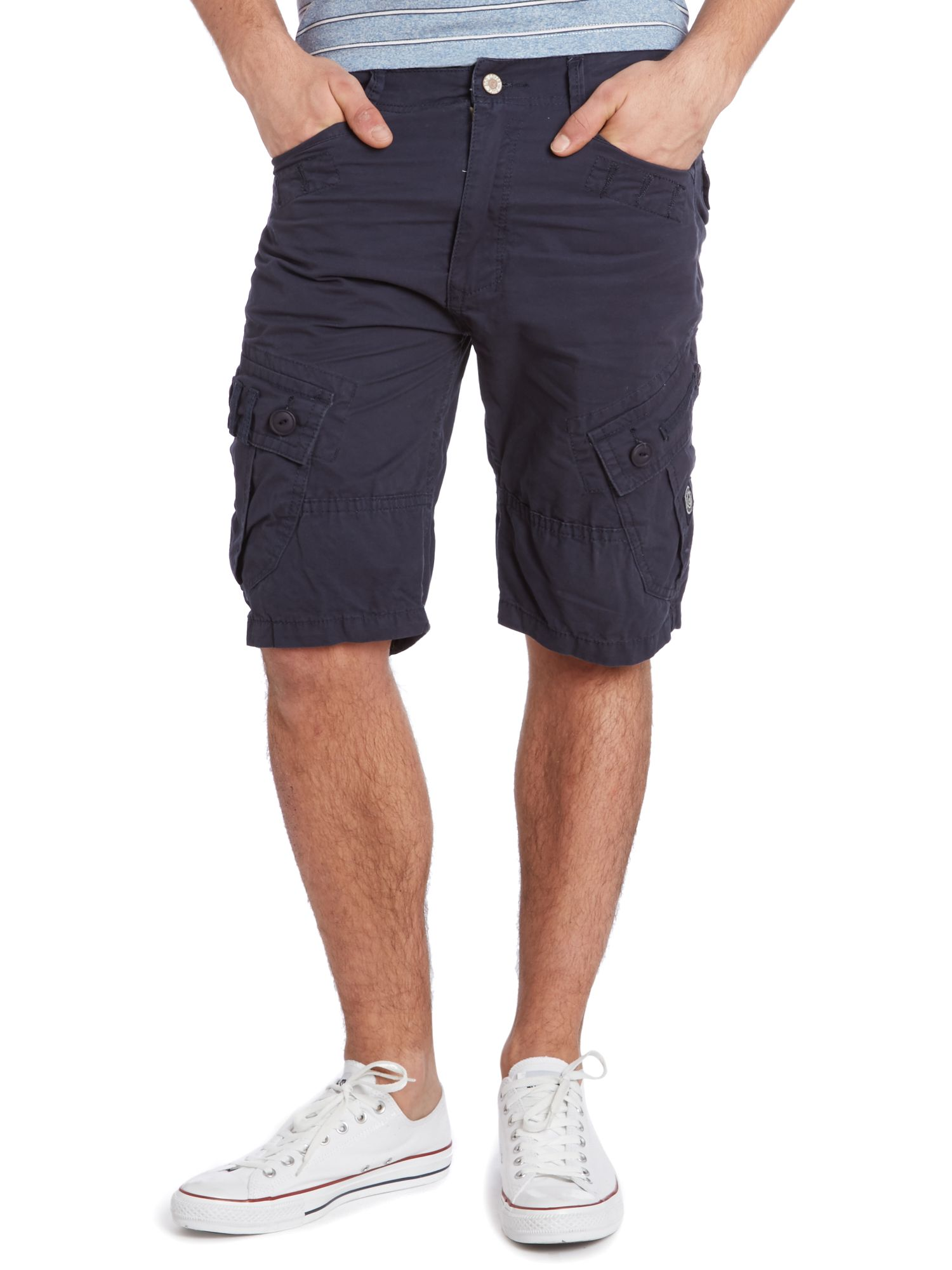 Kardgon combat short in cotton twill