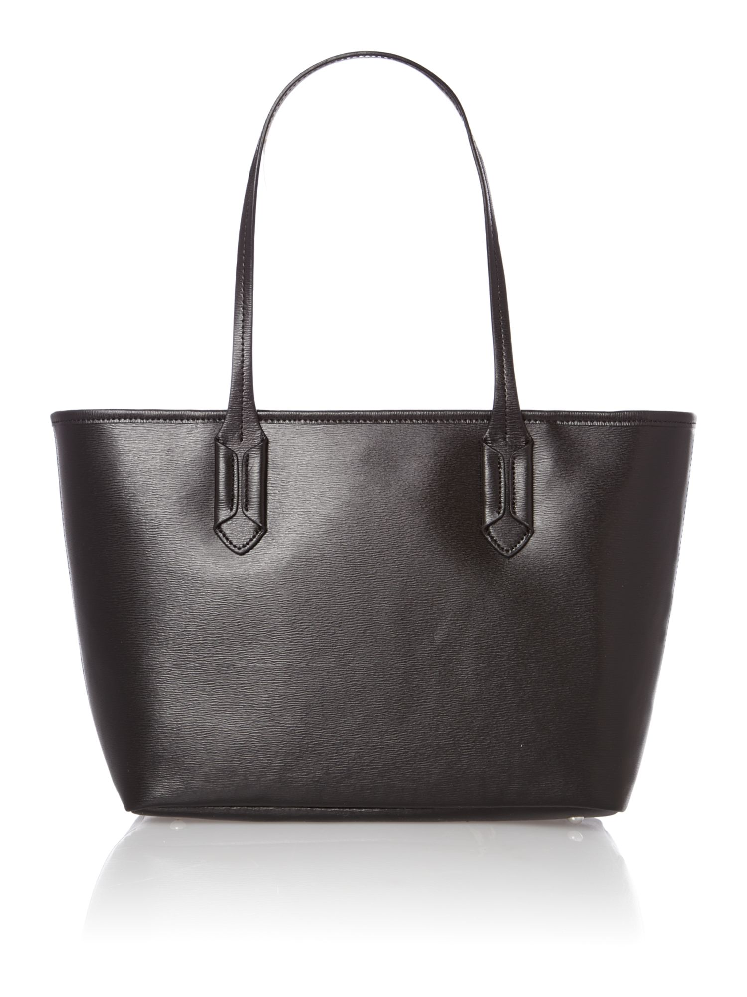 Tate black medium tote bag