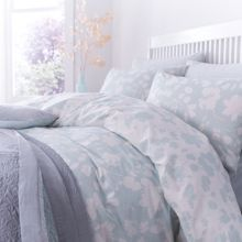 Winter bloom double duvet set