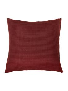 Bramble deep red sham