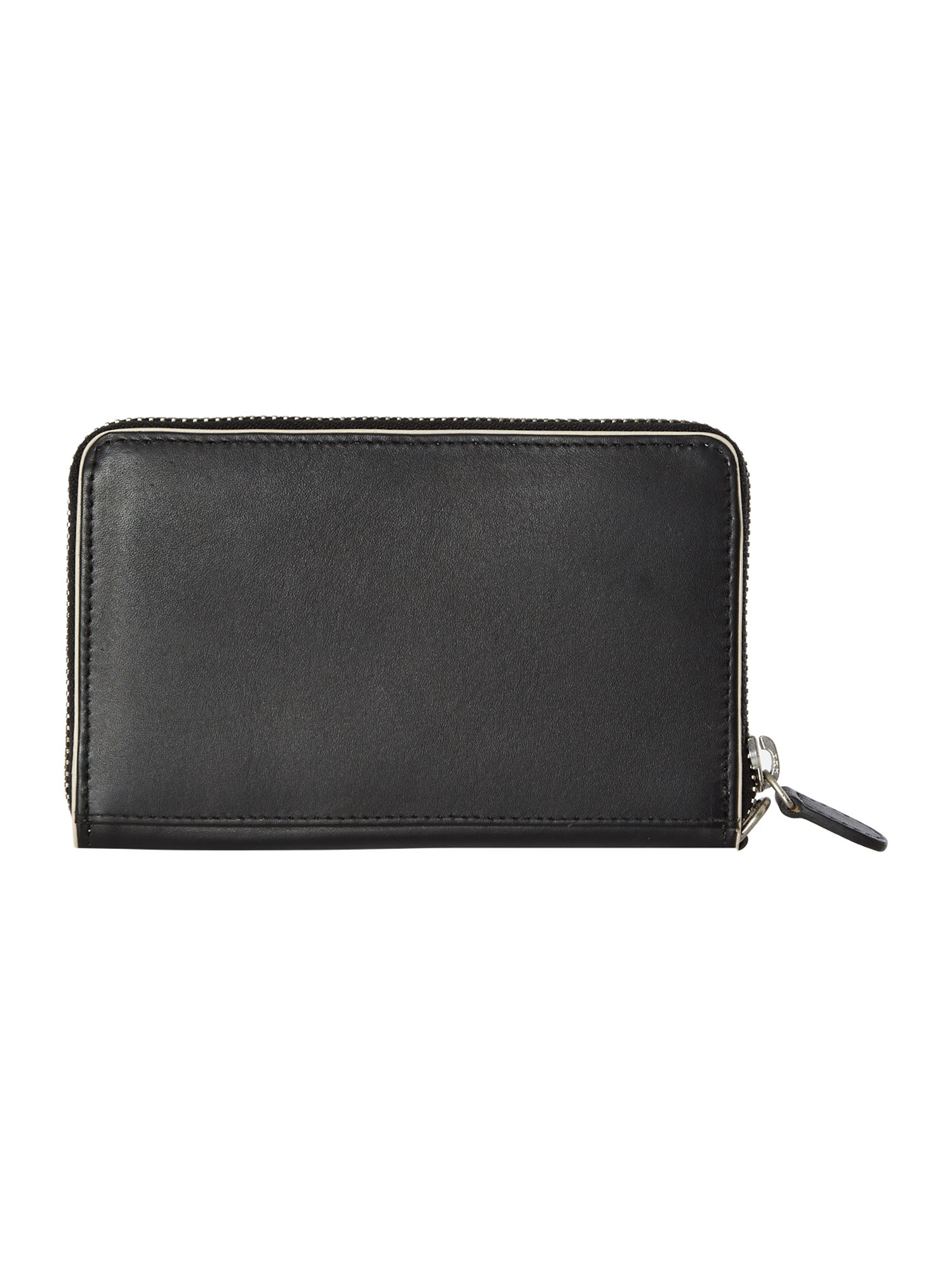 Blair black medium zip wristlet