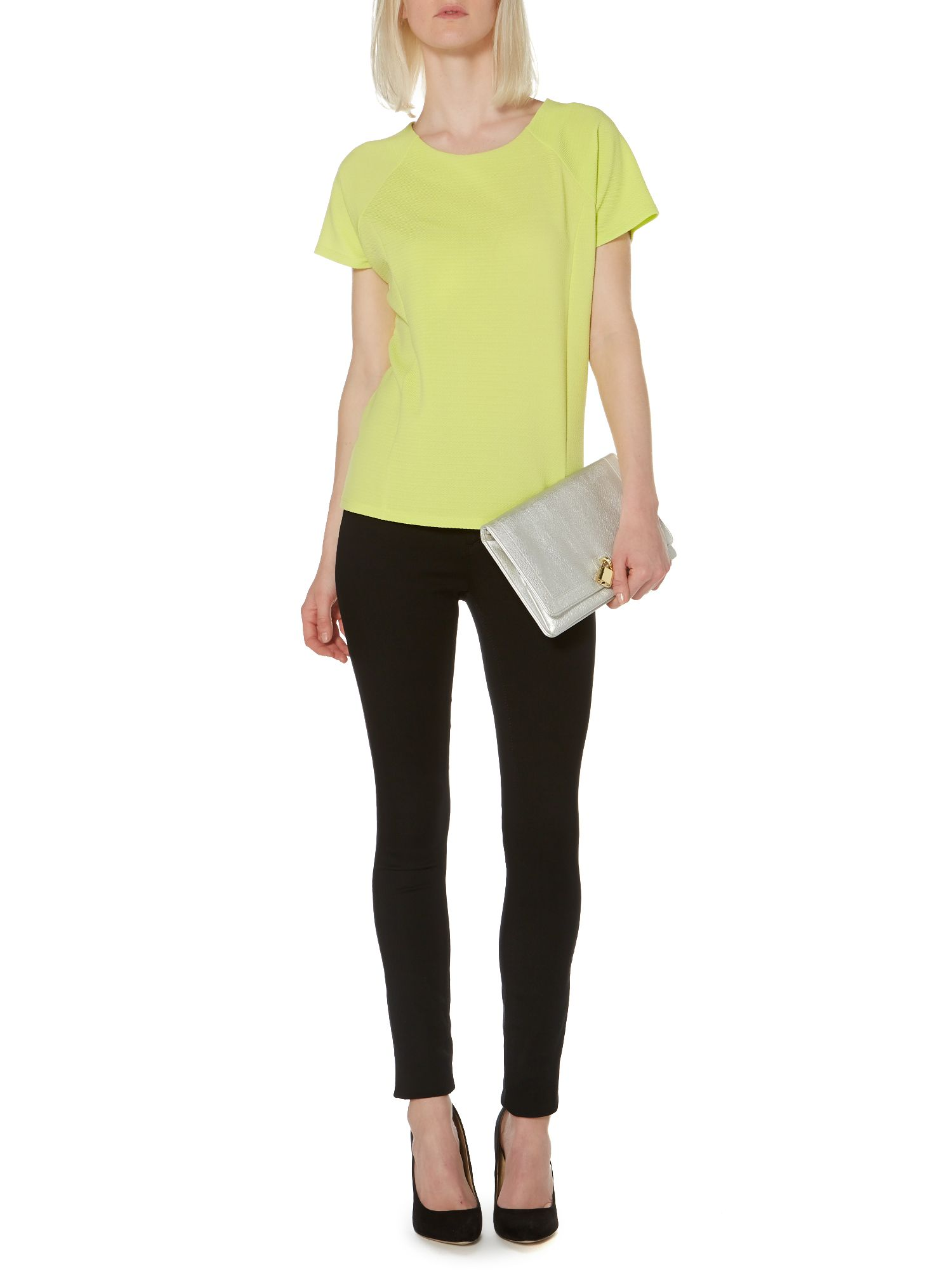 Crepe shell top