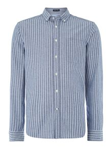Oakland oxford stripe shirt