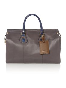 Colour highlight holdall bag
