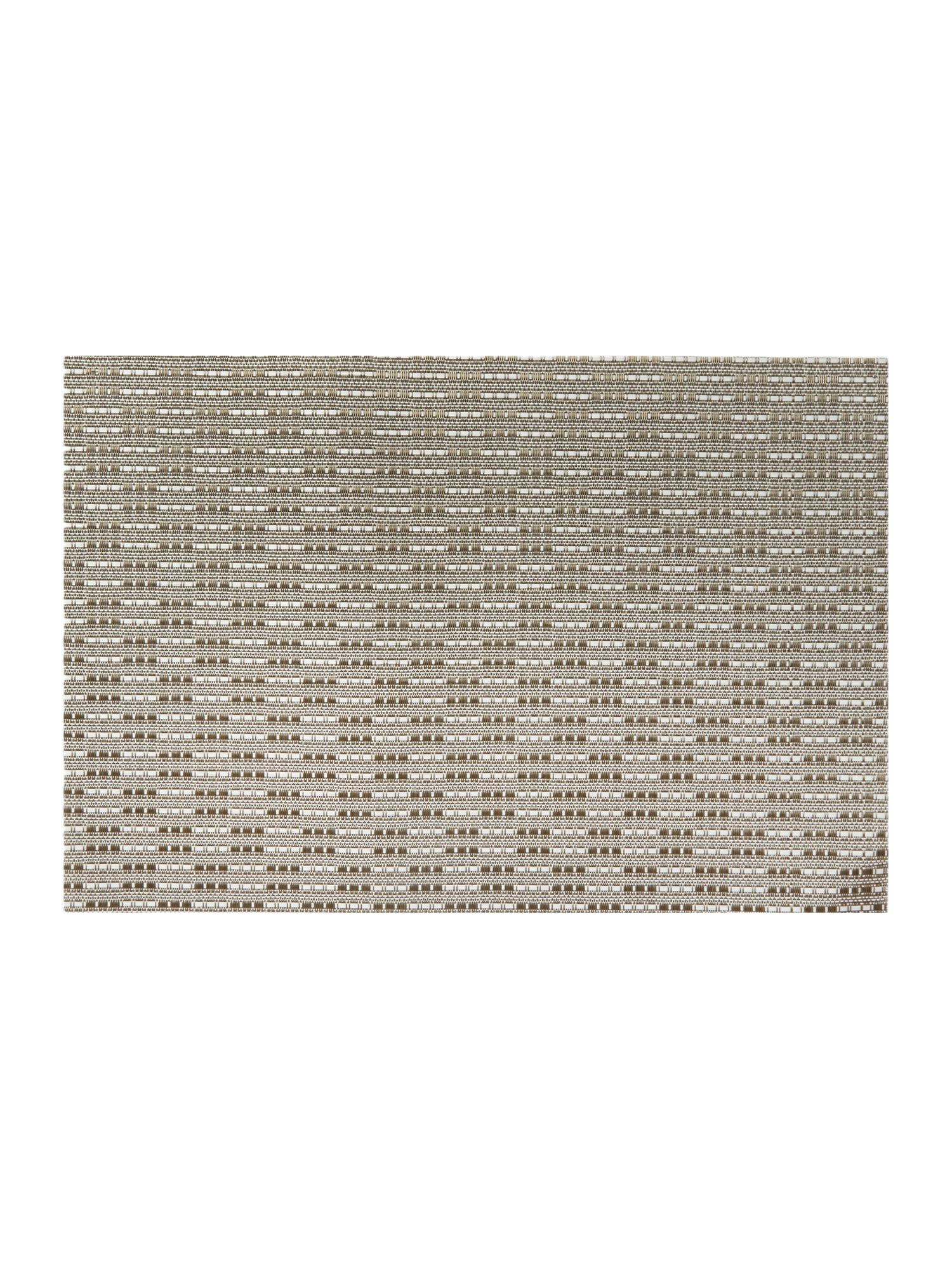 Natural Woven Vinyl Placemat Set of 4