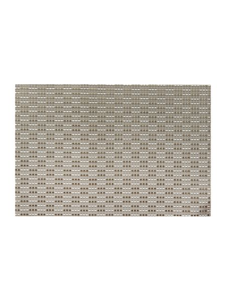 Linea Natural Woven Vinyl Placemat Set of 4