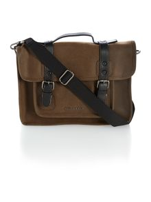Scotch grain satchel bag