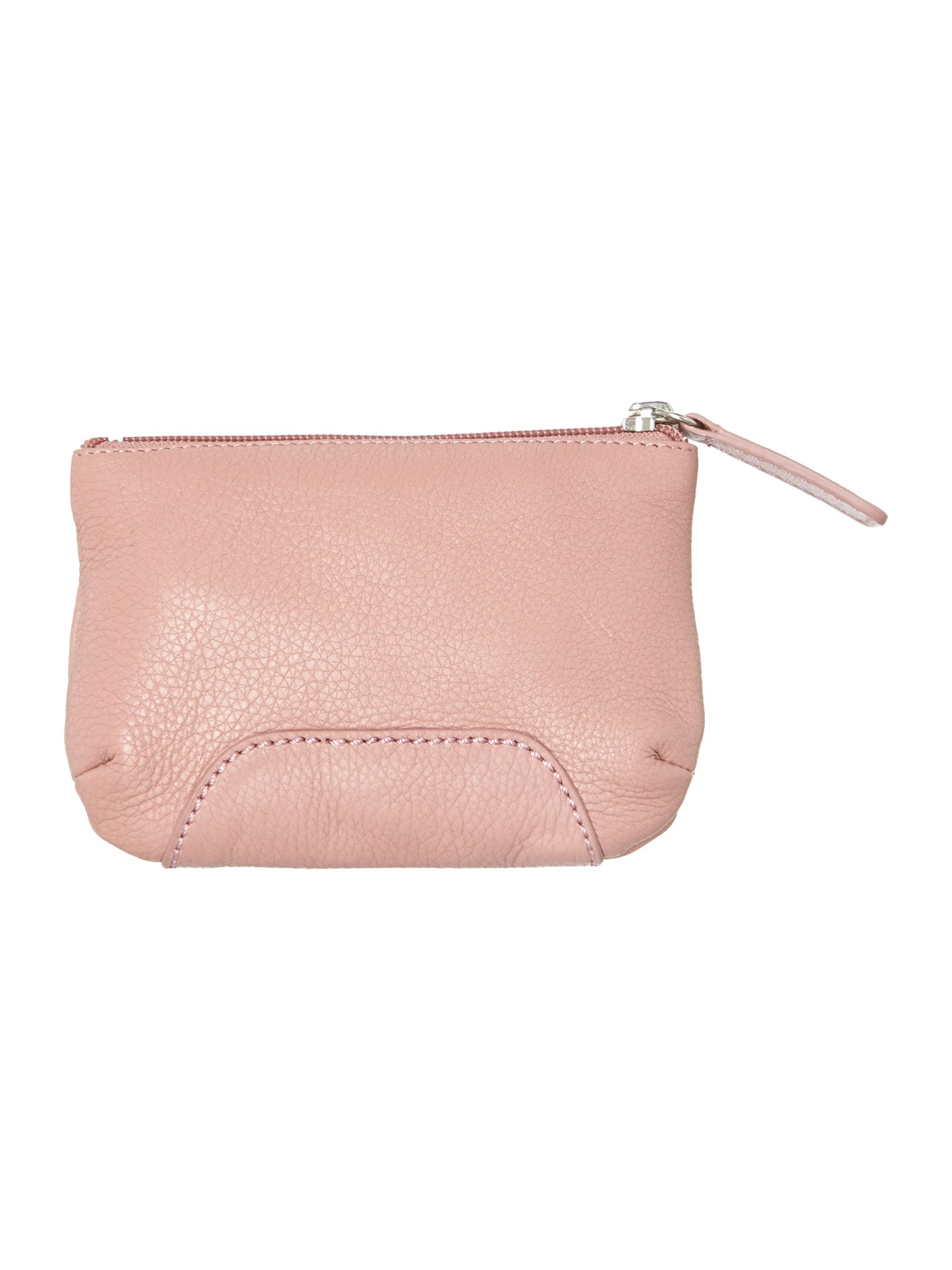 Finsbury pink medium zip pouchette