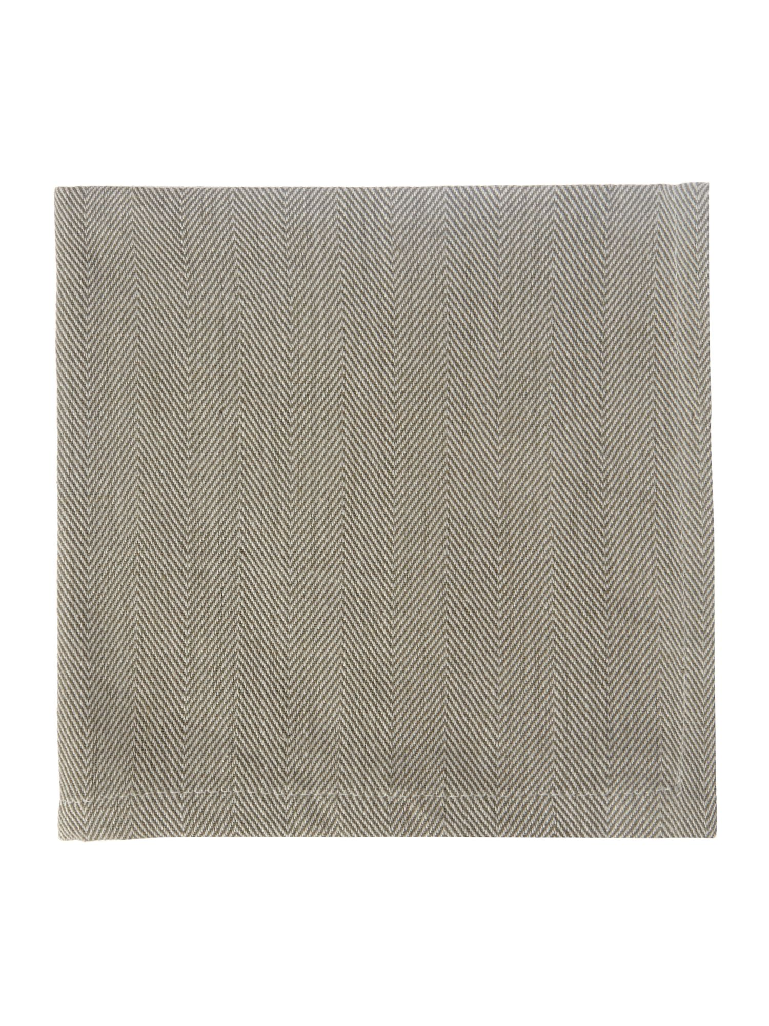 Herringbone Set of 4 Napkins