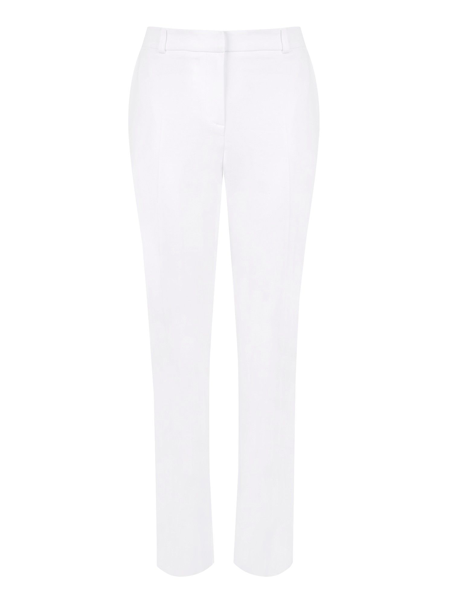 White ankle trouser