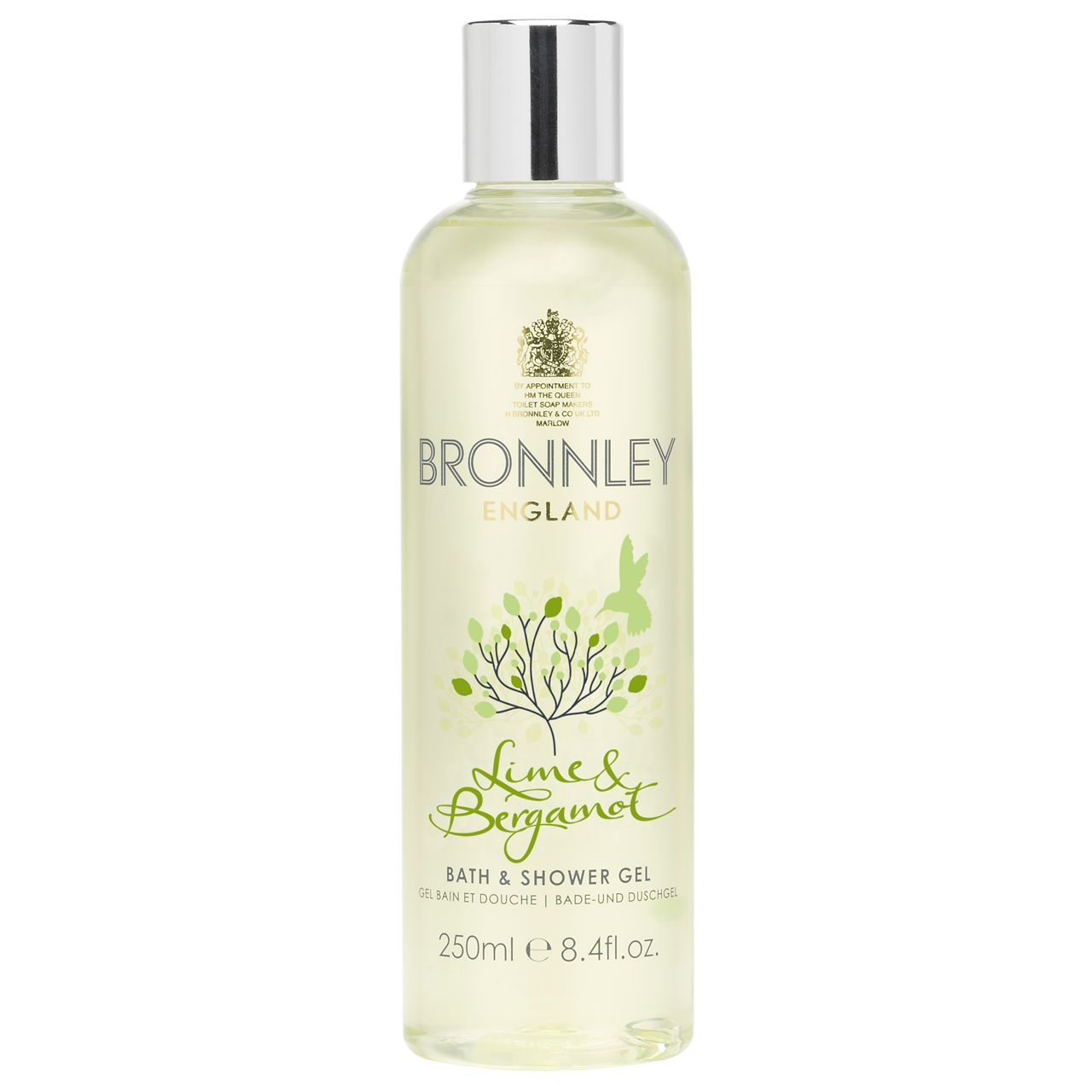 Lime and Bergamot 250ml Bath and Shower Gel