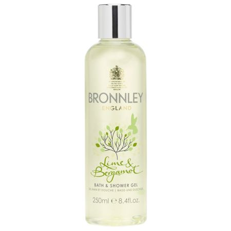 Bronnley Lime and Bergamot 250ml Bath and Shower Gel