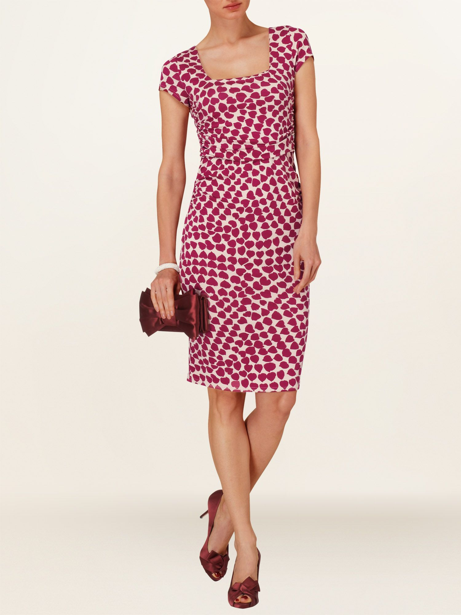 Desiree print dress