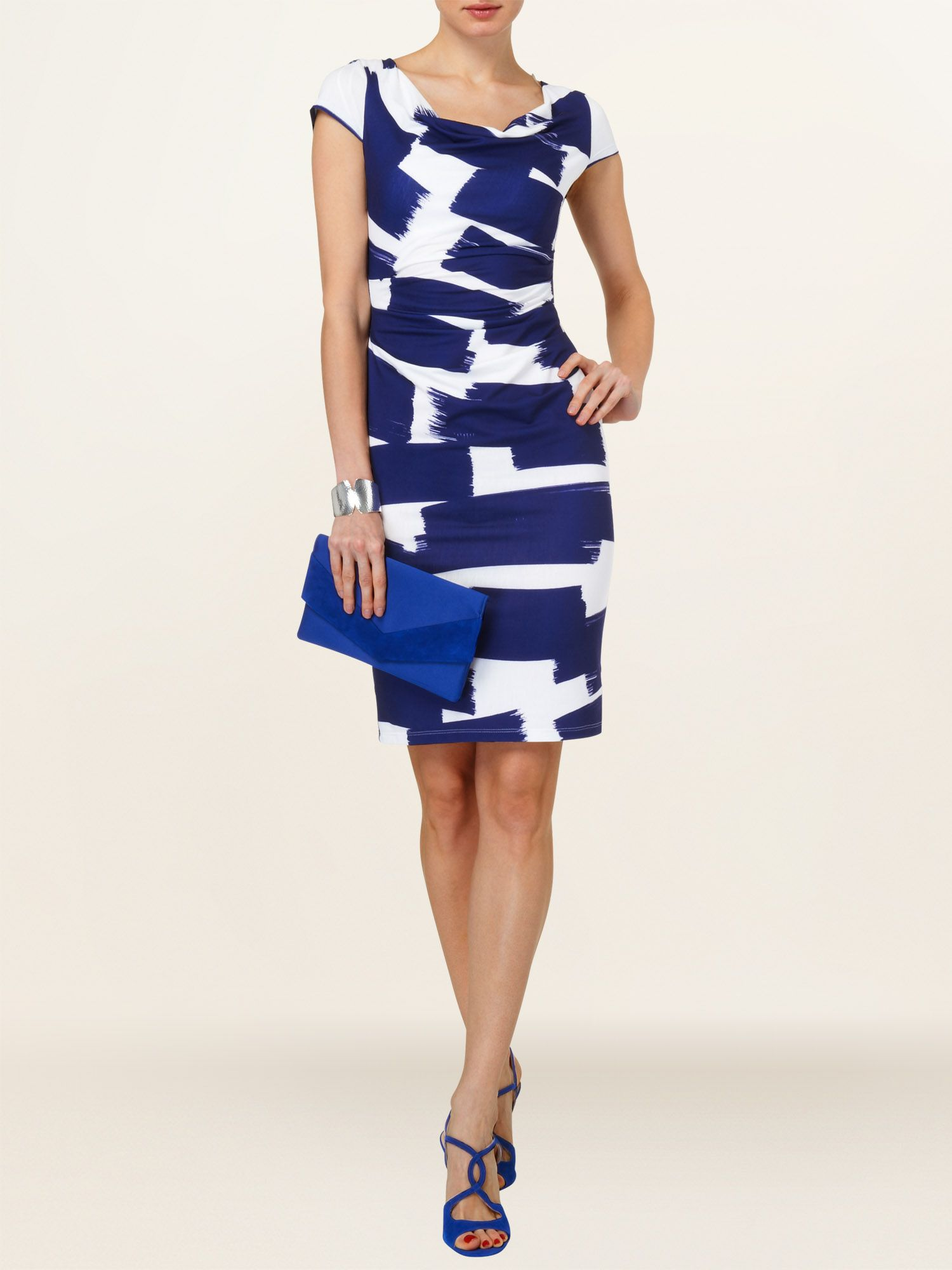 Annie abstract dress