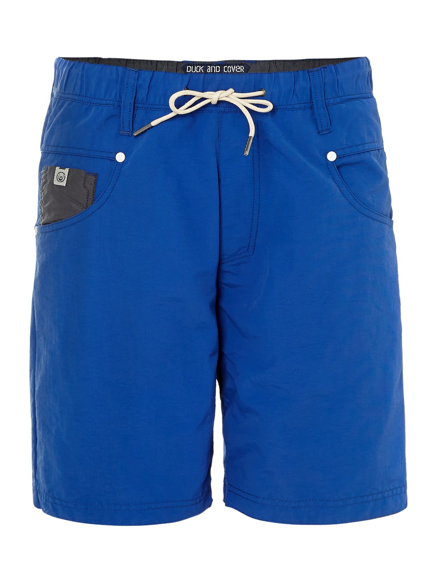 Plean swim shorts in nylon