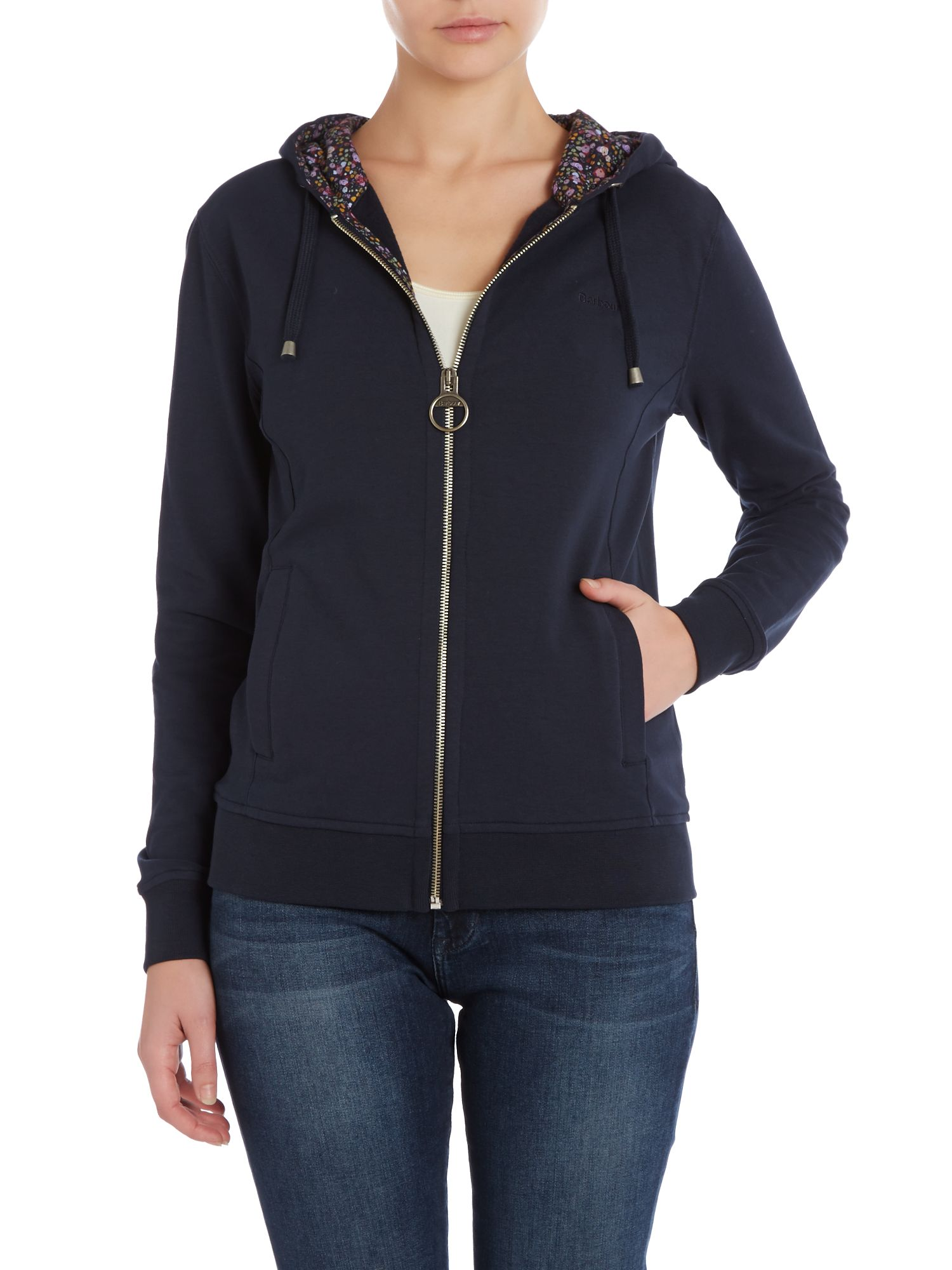 Netherton zip up jumper