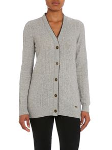 Craik Knitted Cable Cardigan