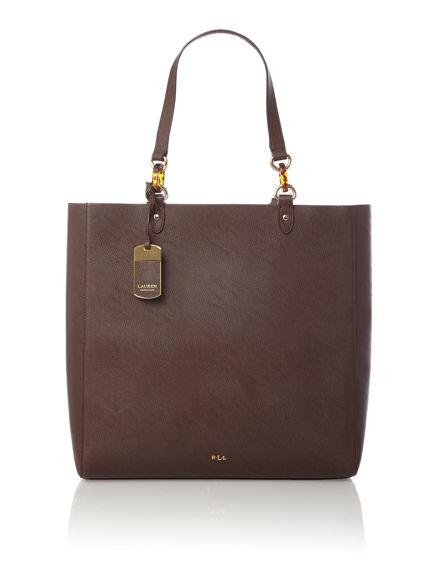 Exclusive Bembridge brown large tote bag