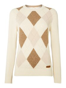 Badmington Argyle Jumper
