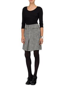 Samina dogtooth skirt