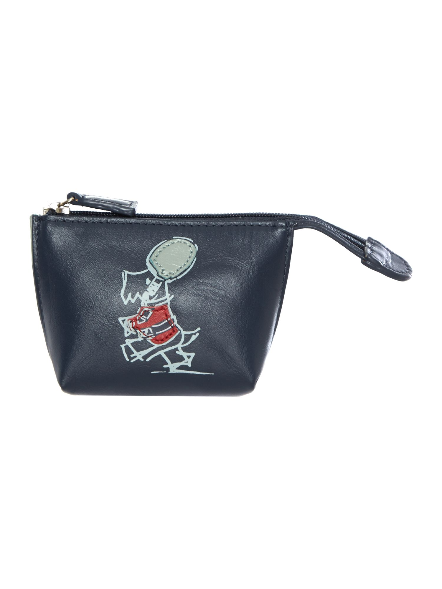 March the march navy small zip coin purse