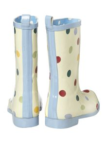Spot short welly boot