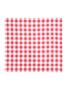 Red Check Napkins Set of 4