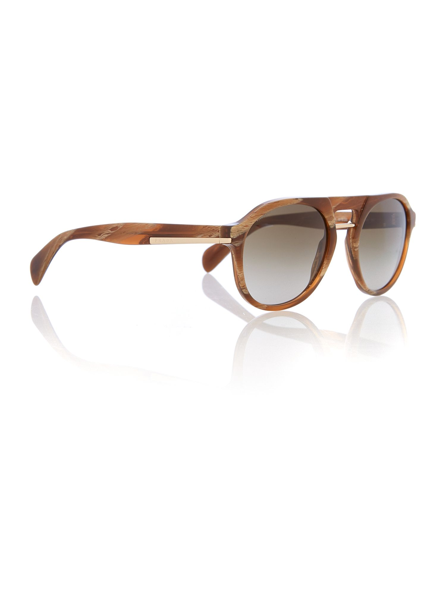 Men brown gradient phantos sunglasses