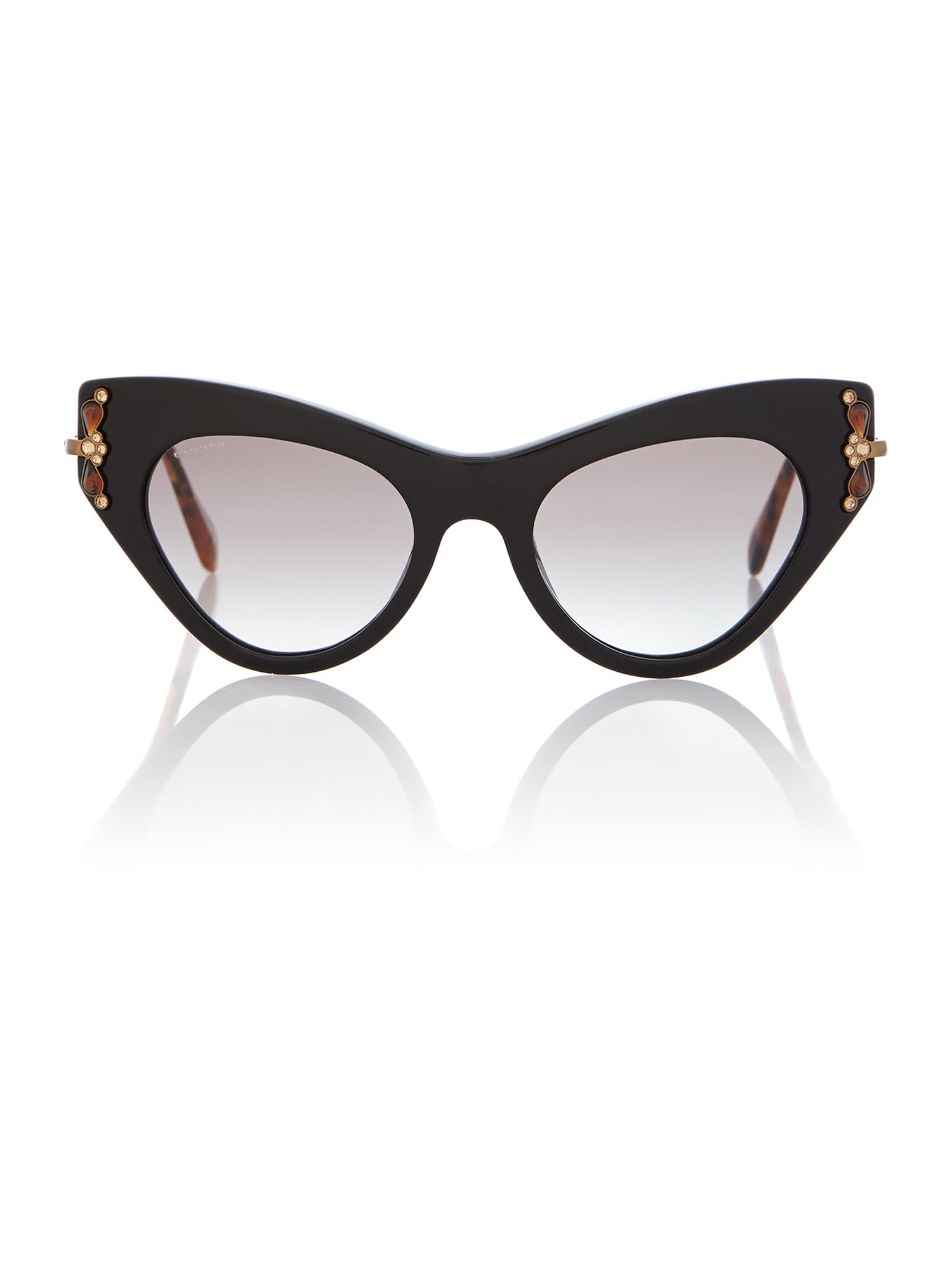 Mu 04ps ladies cat eye sunglasses