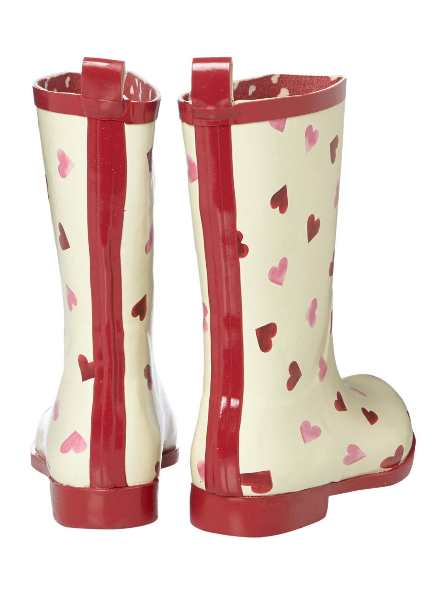 Hearts short welly boot