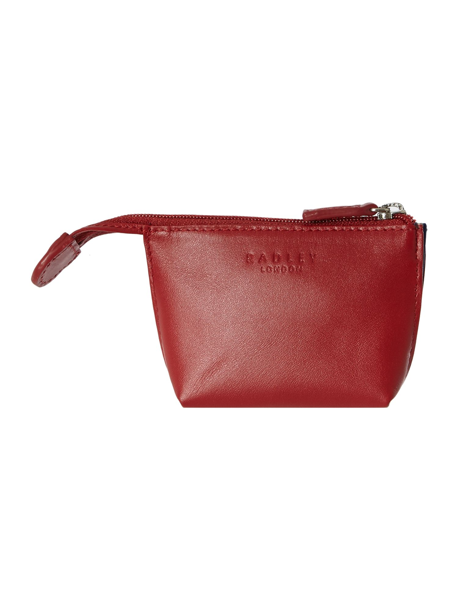 March the march red small zip coin purse