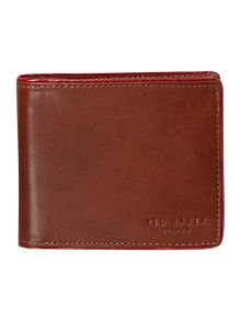 Piping edge bifold wallet
