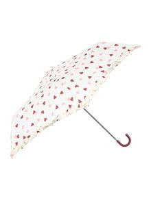 Hearts umbrella