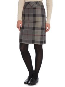 Mini lindores tartan pencil skirt