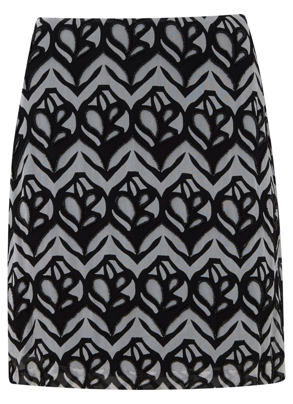 Faith print skirt
