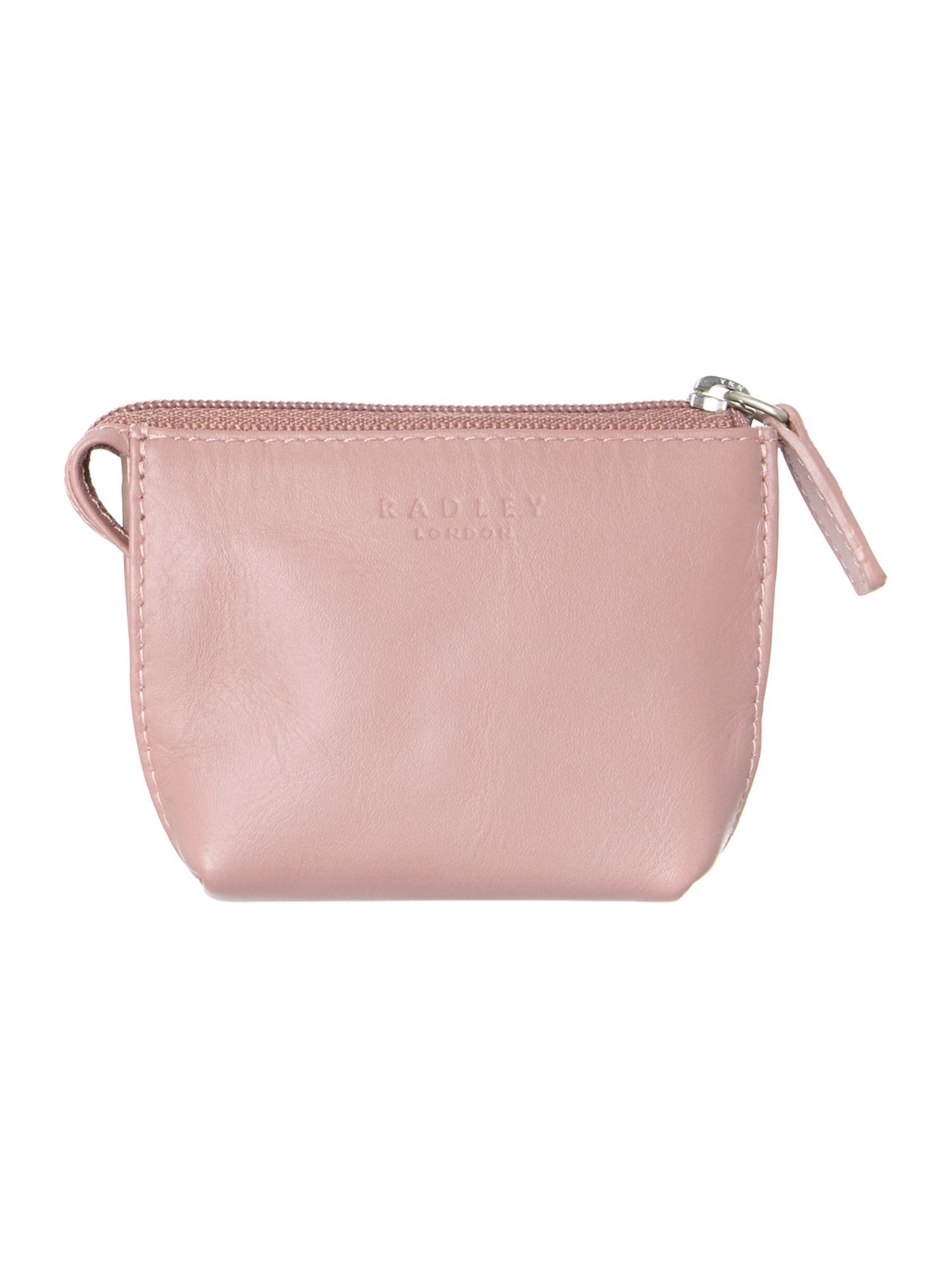 Heritage dog pink small zip coin purse